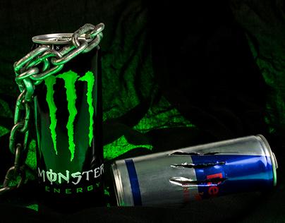 Monster Energy Drink - Creative Advertisement Ideas