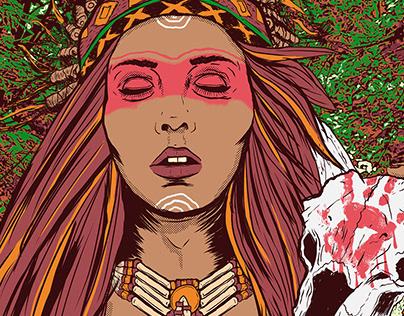 MALEZA Poster Design and Illustration