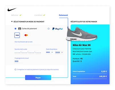 Nike payment
