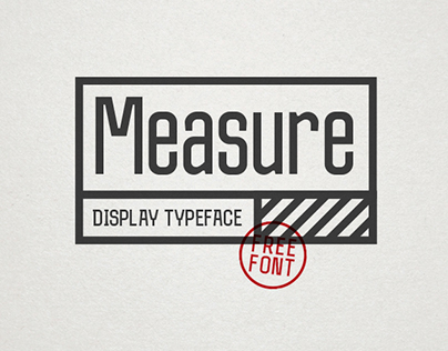Measure // Typeface
