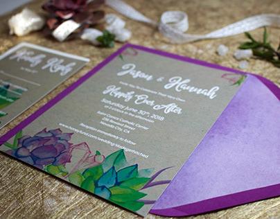 Hannah's Wedding Invitations
