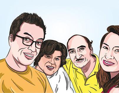 Ilustraciones familiares