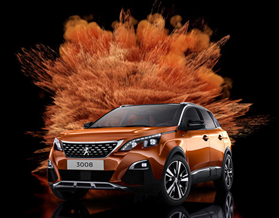 Peugeot Powder paint