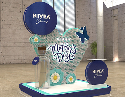 Nivea Booth Mother Day 2019