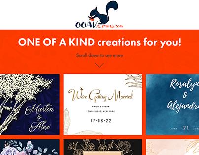 Logo and Website Design for OOKreations.com