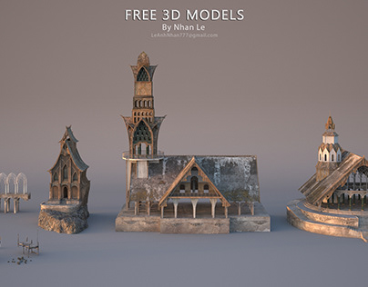 Free 3D Models By Nhan Le