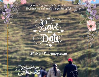 Save the Date E-invite