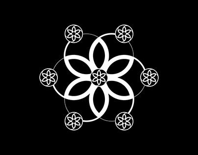 Remake on crop circles | Series of minimal artworks