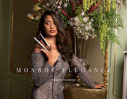 Monroe Elegance Hair Styler E-commerce Store Web Design