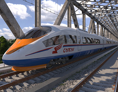 Sapsan Velaro RUS Train 2010