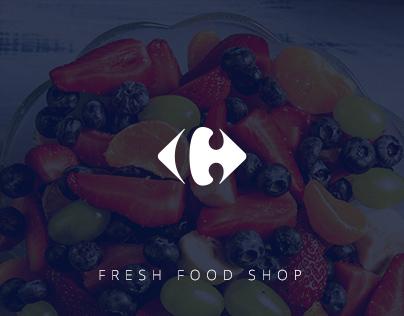 CARREFOUR ONLINE     Fresh food shop