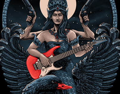 The Dark Sarasvati