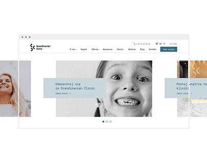 Scandinavian Clinic Web Design