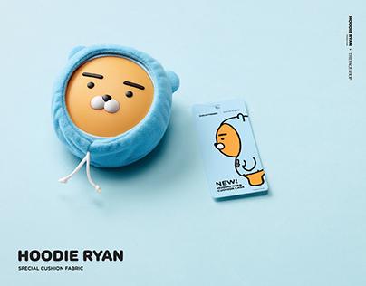 HOODIE RYAN x THEFACESHOP collaboration