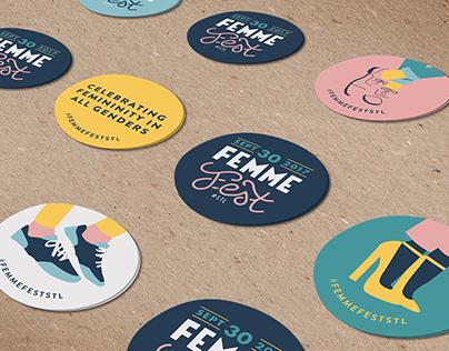 Femme Fest Branding