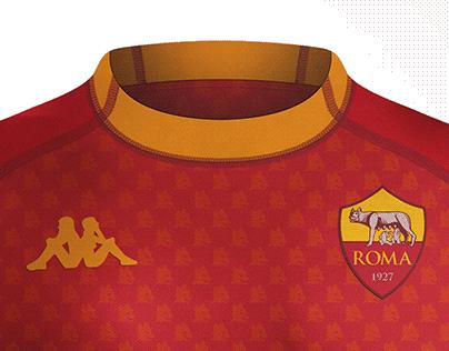 Kit concept AS Roma footballNerd Kappa kombat
