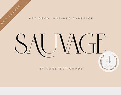 Sauvage - Elegant Font