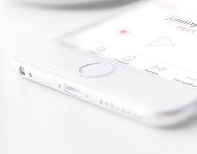 RadioBox app design