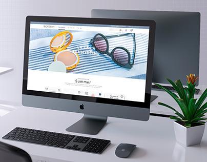 Bioderma - Website redesign