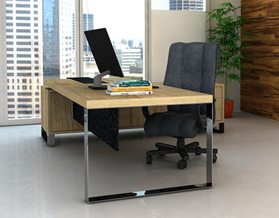 3d Render   Office