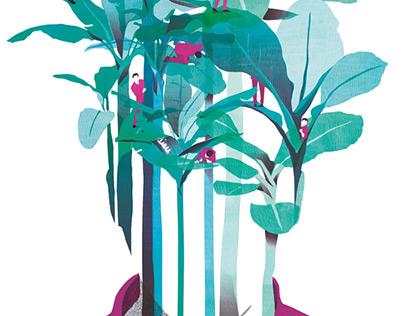 Editorial illustration - Revue Citrus