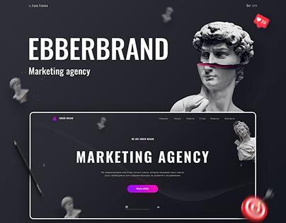 Website Design for marketing agency EbberBrand