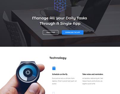 Homepage-App