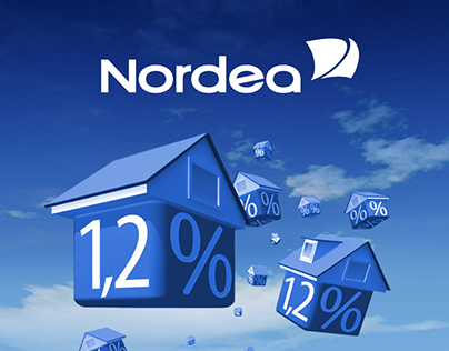 Nordea - banner ads, landing page
