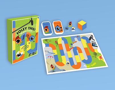 FOLEY THIS // Board Game