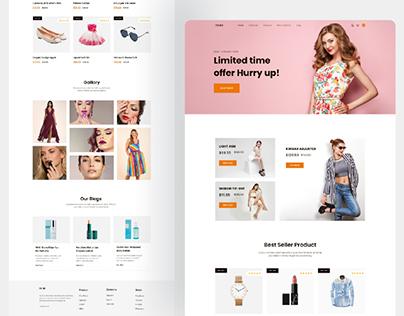 clothing websites, Elementor,  wordpress
