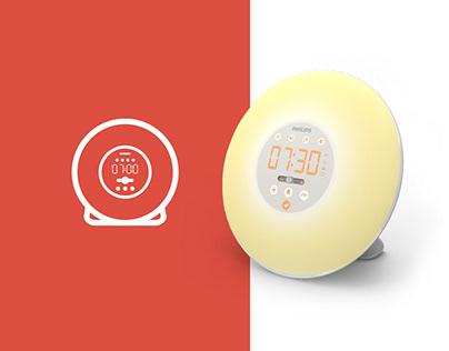 WakeUp light - Interface Redesign