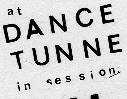 Behind This Wall at Dance Tunnel — Poster