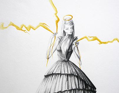 Popular Saints Illustration