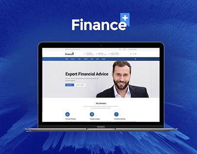 FinancePlus - Finance & Business WordPress Theme