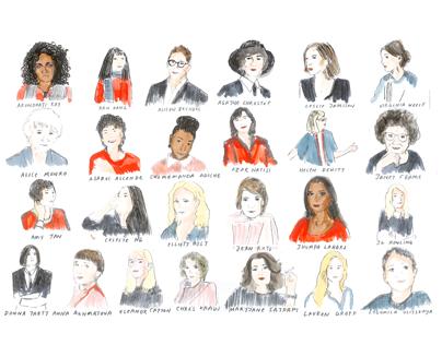50 Female Authors
