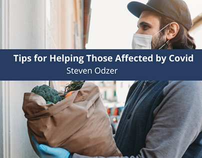 Steven Odzer Gives Tips for Helping Those Affected by