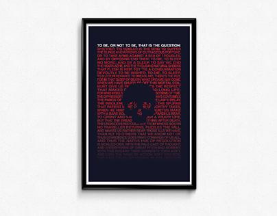Hamlet Type Poster