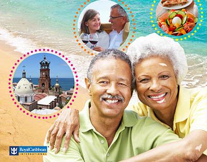 Vitiligo Royal Caribbean Cruise Line Ad.