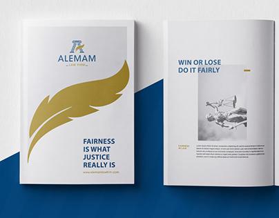 AL-EMAM Branding Identity