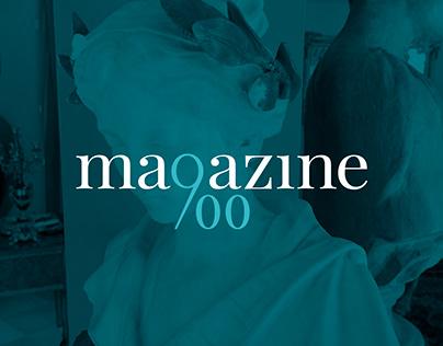 Magazine900 - Brand Identity