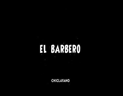 Paperilia Corporativa EL BARBERO chiclayano y Logo