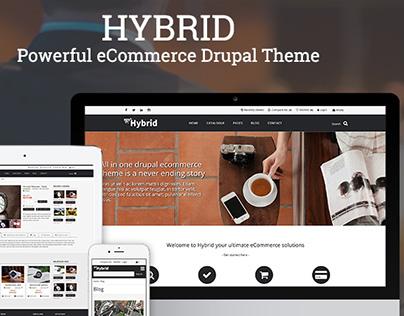 HYBRID - Powerful eCommerce Drupal Theme