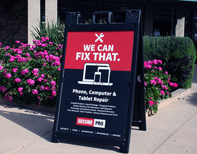 "SecurePRO: ""We Can Fix That"" Campaign"
