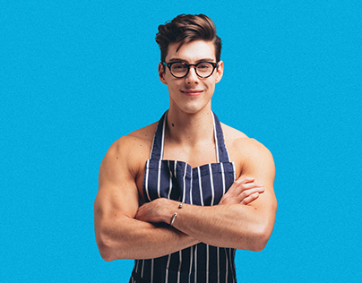Promotional Photography for The Topless Baker
