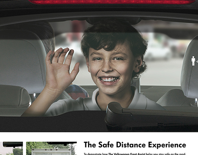 VW The Safe Distance Experience / Outdoor