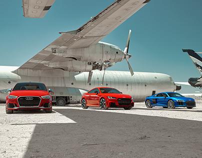 Audi RS in the Aircraft Boneyard