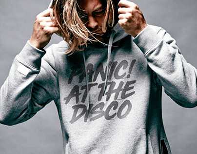 Panic At The Disco! Product Design