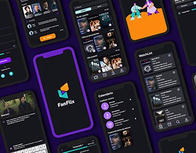 Fanflix - Diseño UX UI