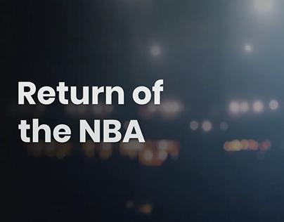 Return of the NBA