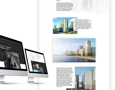 LSR. Website concept.